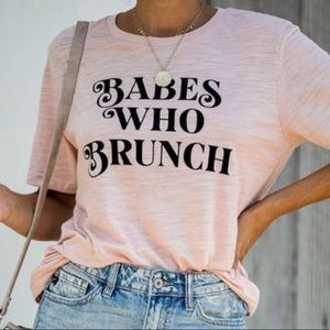 Vici Babes Who Brunch Tee